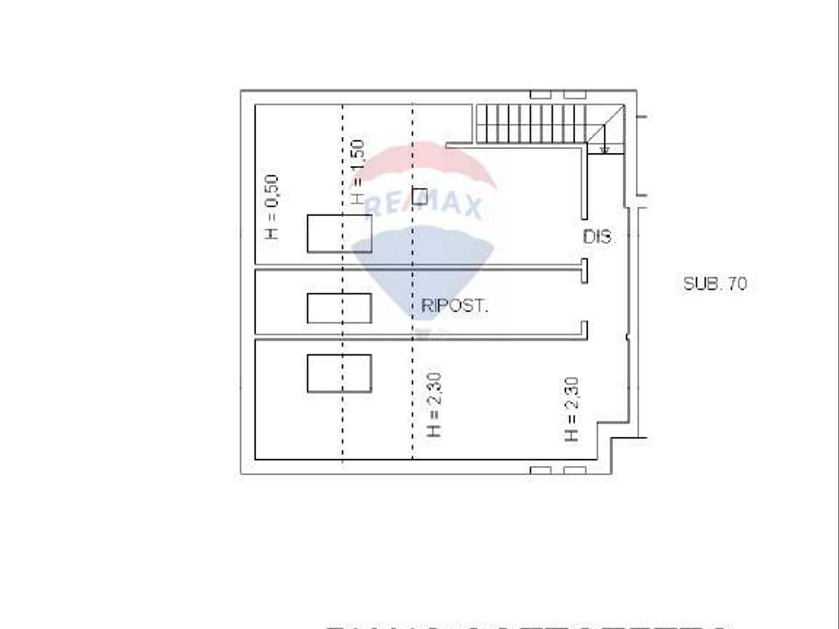 Attico/Mansarda Carrara, MS Vendita - Planimetria 2