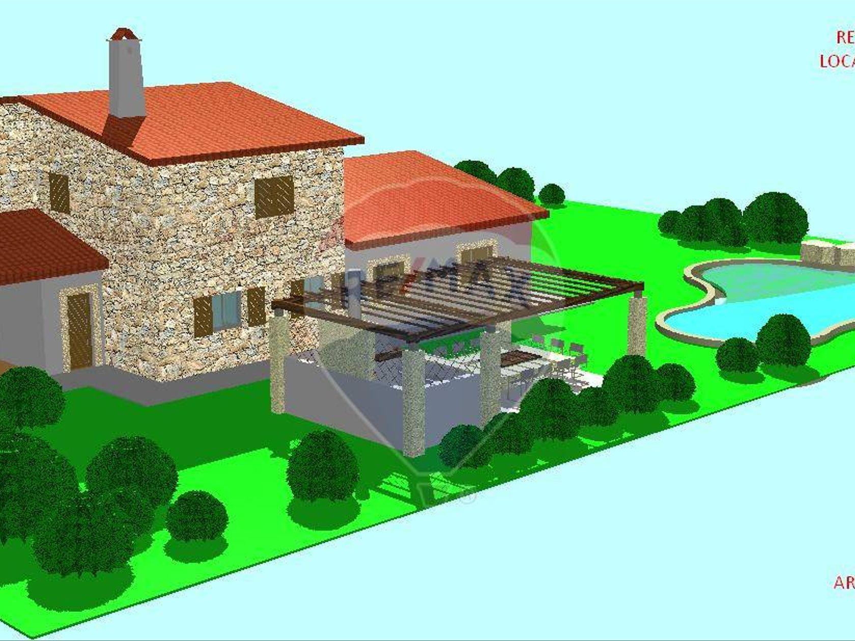 Villa singola Vignola Mare, Aglientu, OT Vendita - Planimetria 1