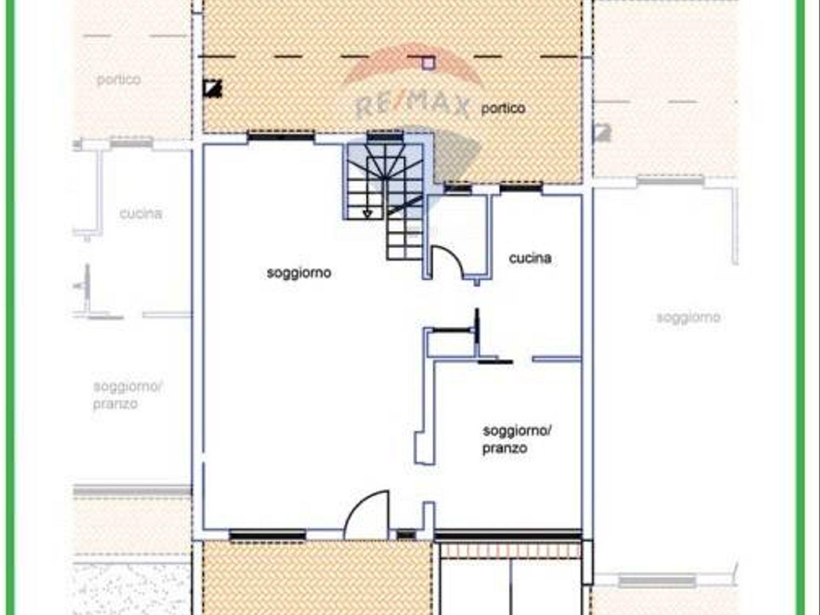 Villa a schiera Grottaferrata, RM Vendita - Planimetria 1