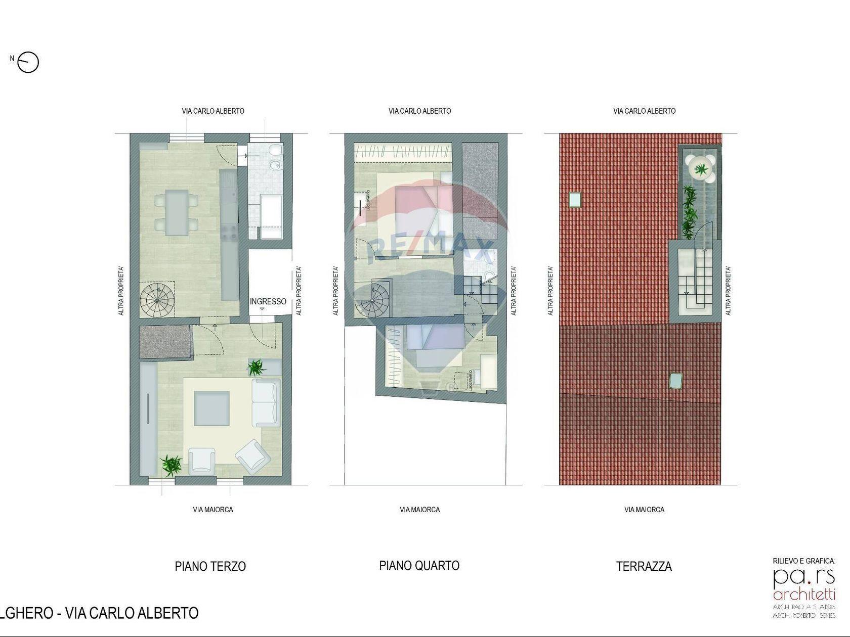 Appartamento Alghero, SS Vendita - Planimetria 3