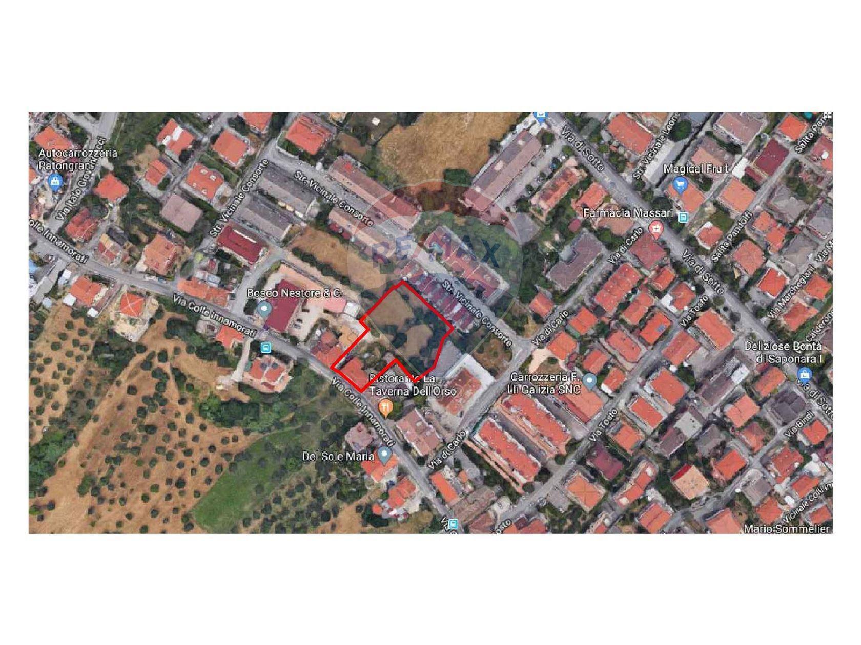 Terreno Edificabile Colle Innamorati, Pescara, PE Vendita - Planimetria 1