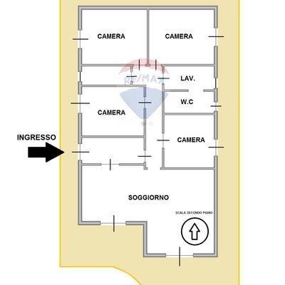 Villetta bifamiliare Trecastagni, CT Vendita - Planimetria 2