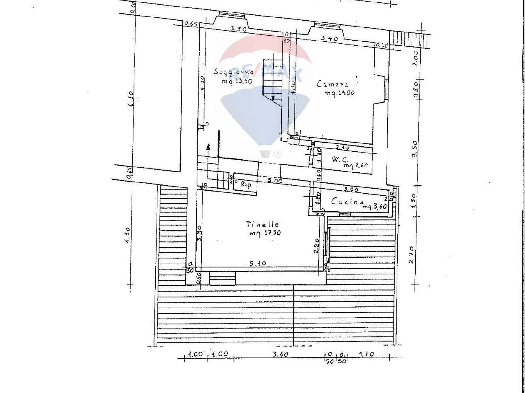 Appartamento L'Aquila, AQ Vendita - Planimetria 1