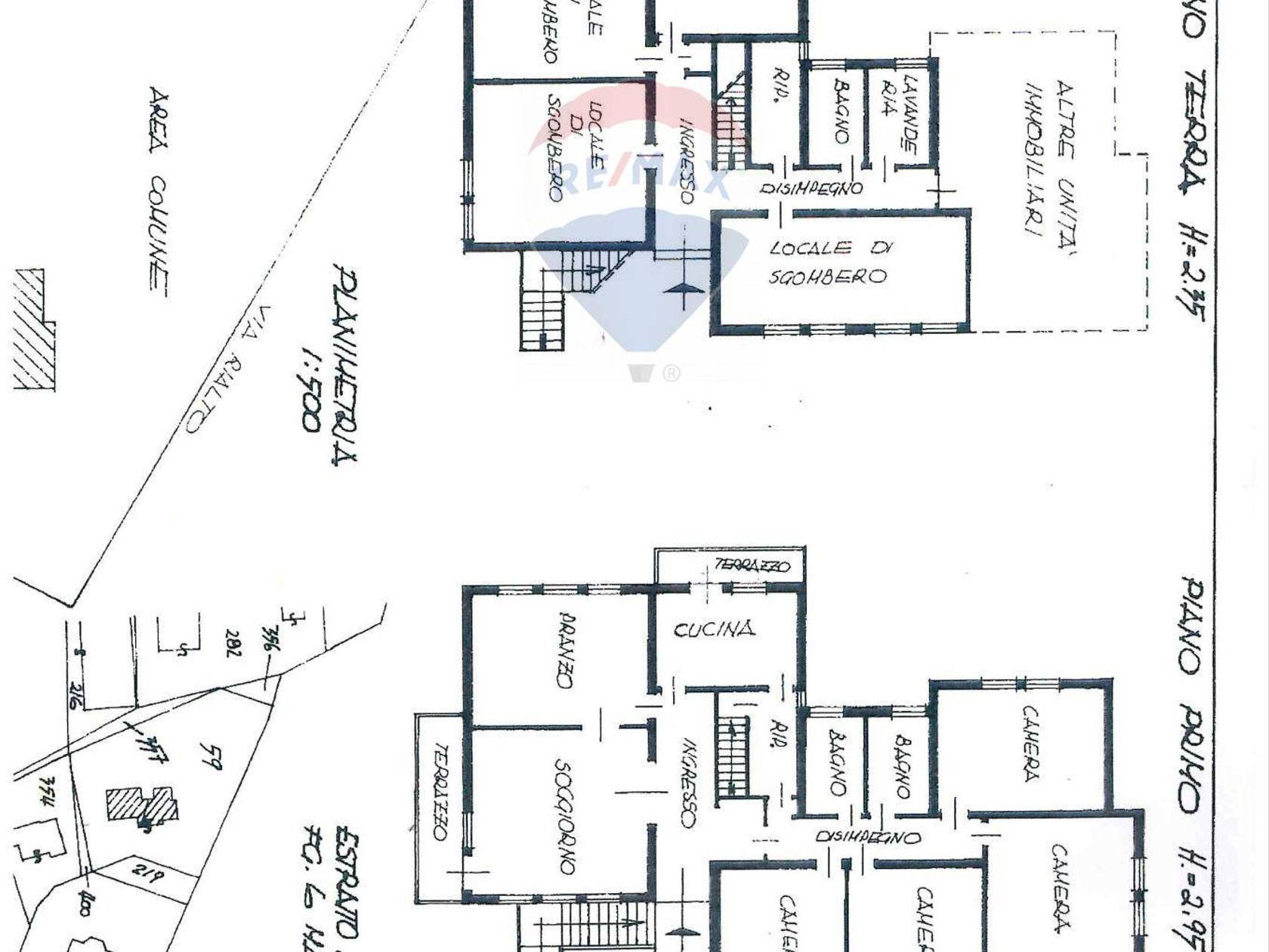 Villa singola Cona, VE Vendita - Planimetria 1