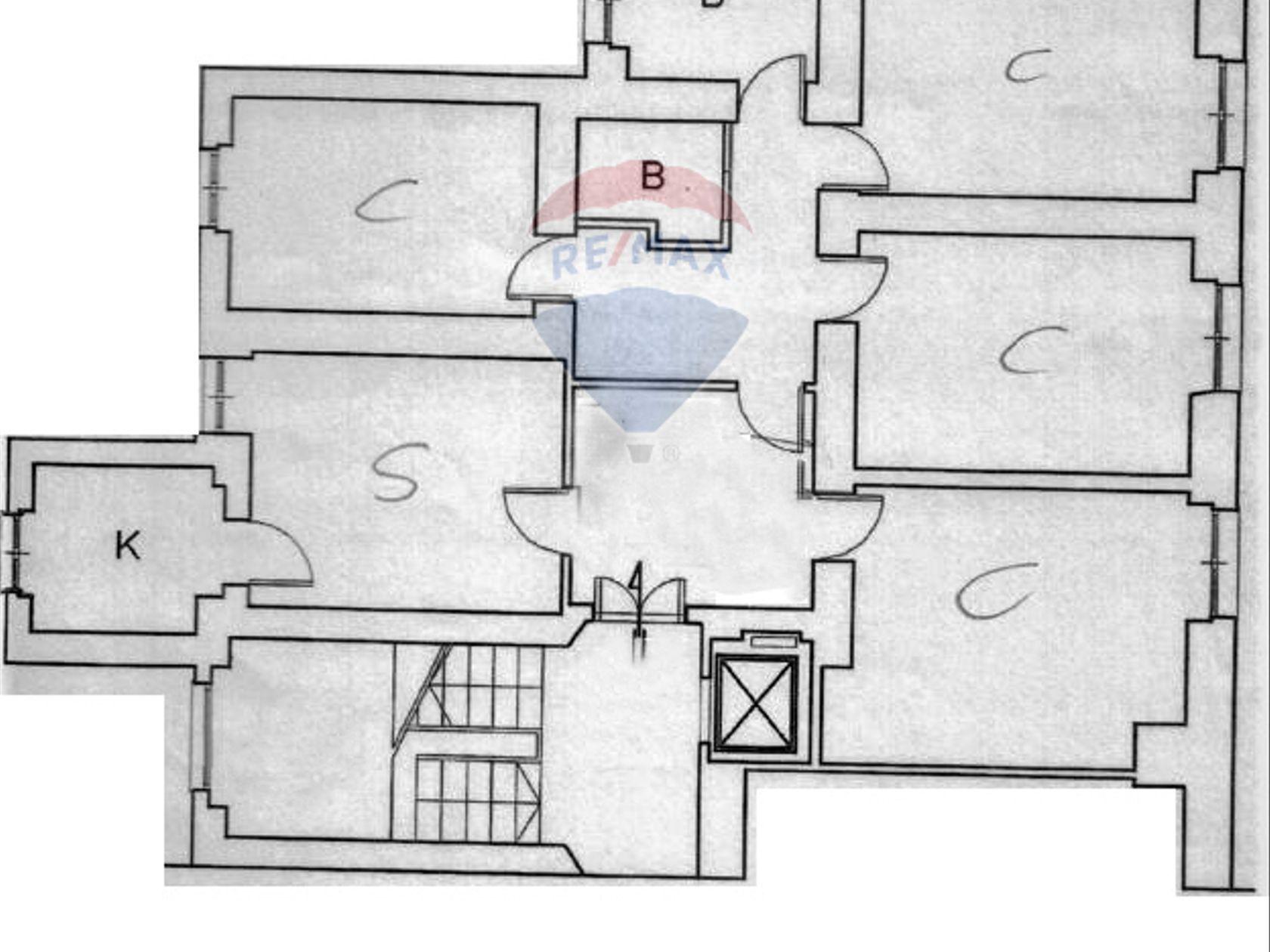 Appartamento San Lorenzo, Roma, RM Vendita - Planimetria 1
