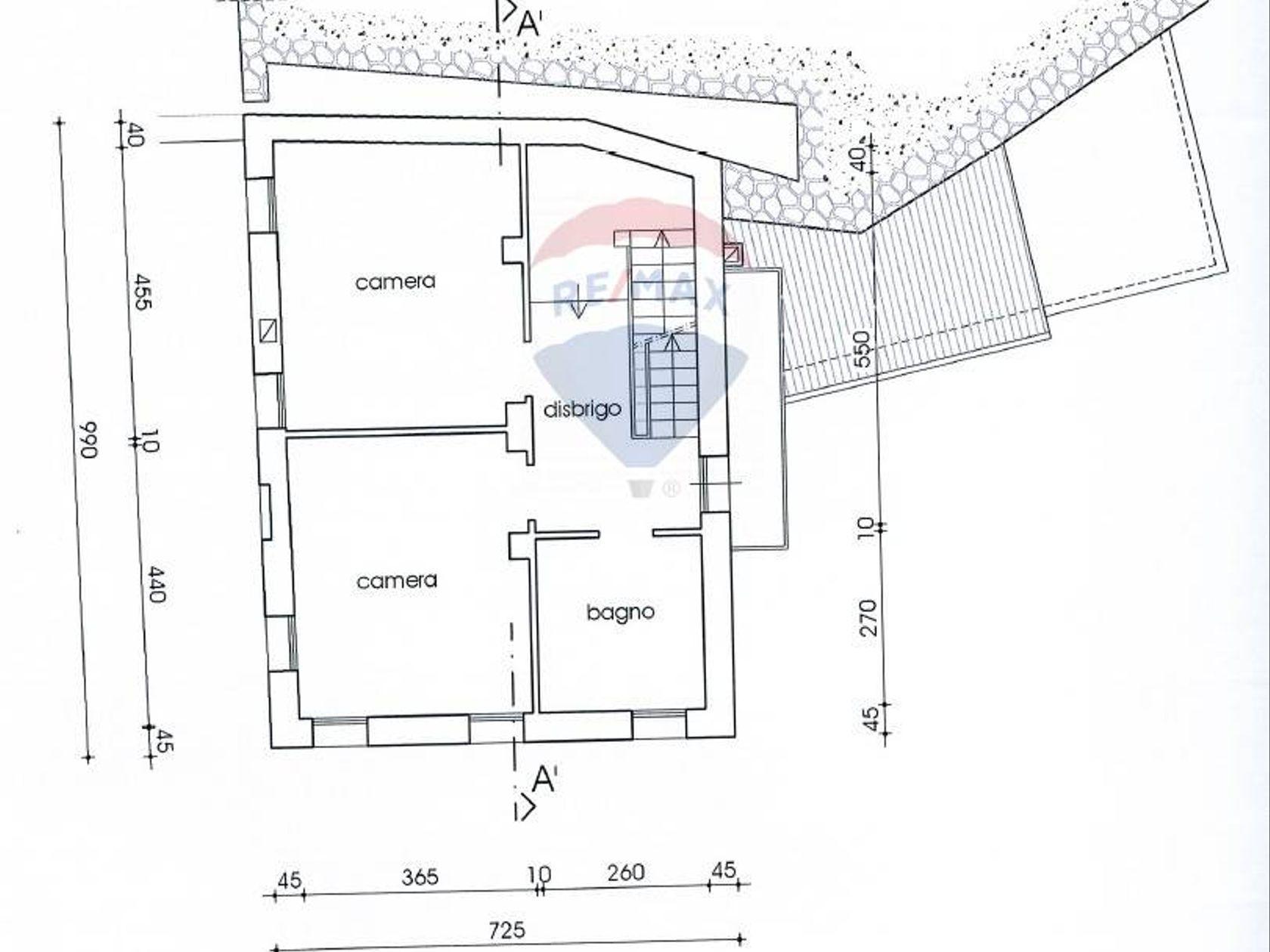 Casa Indipendente Asolo, TV Vendita - Planimetria 1