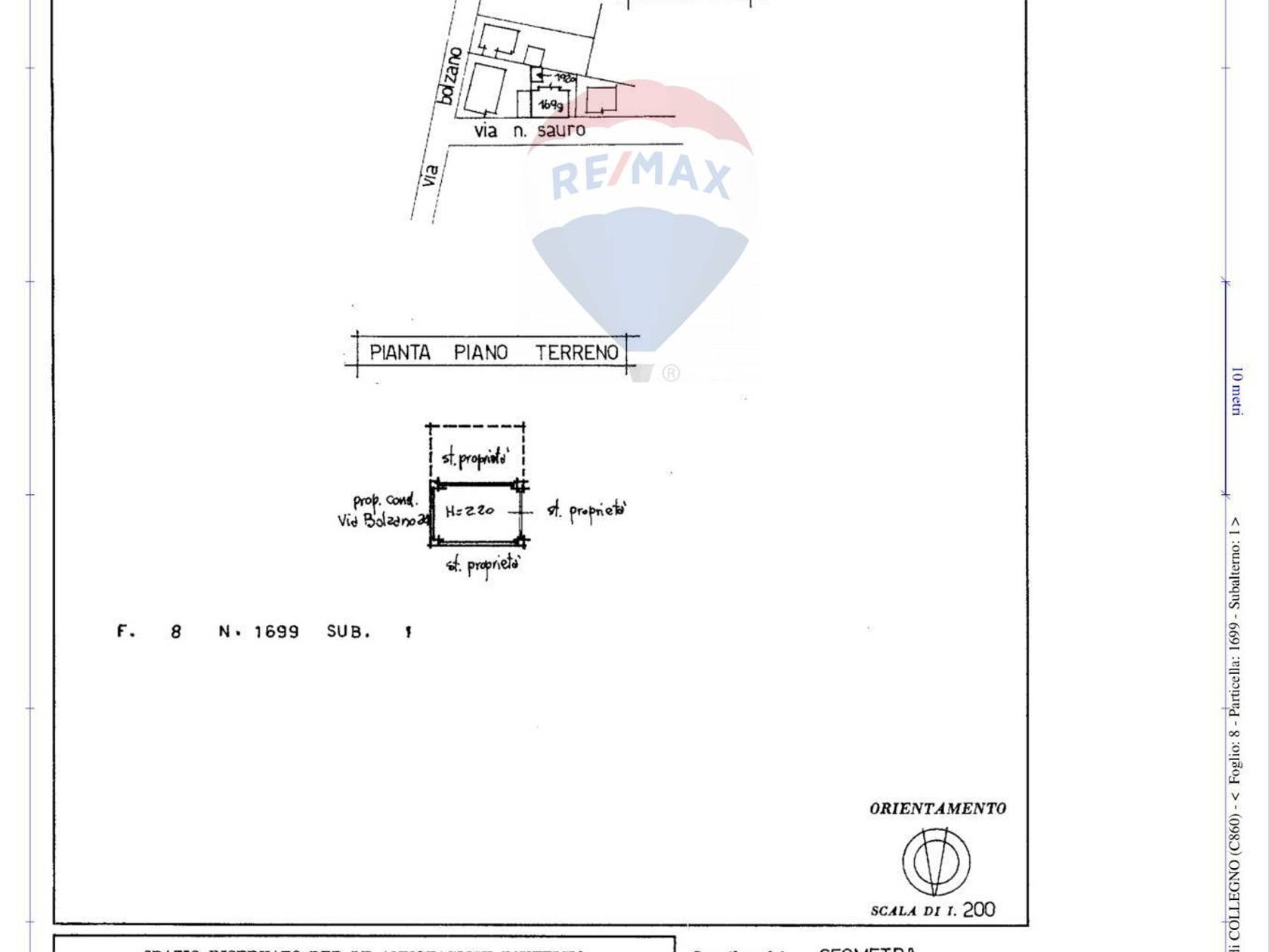 Casa Indipendente Santa Maria, Collegno, TO Vendita - Planimetria 7