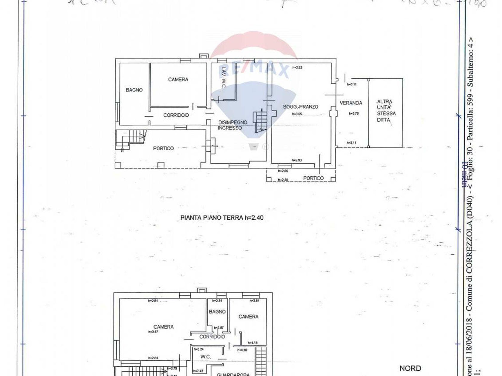 Villa singola Correzzola, PD Vendita - Planimetria 2