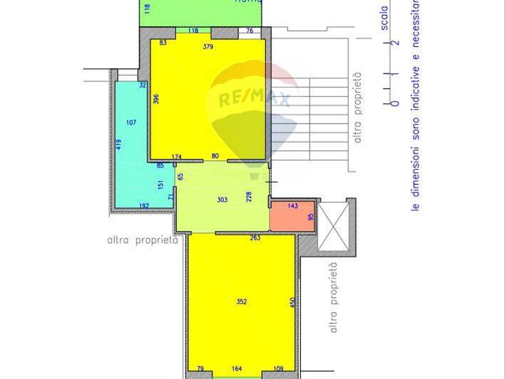 Appartamento Torino-barriera Di Milano Falchera Barca-bertolla, Torino, TO Vendita - Planimetria 2