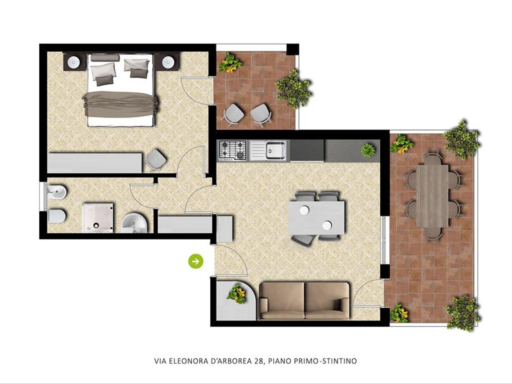 Appartamento Stintino, SS Vendita - Foto 3