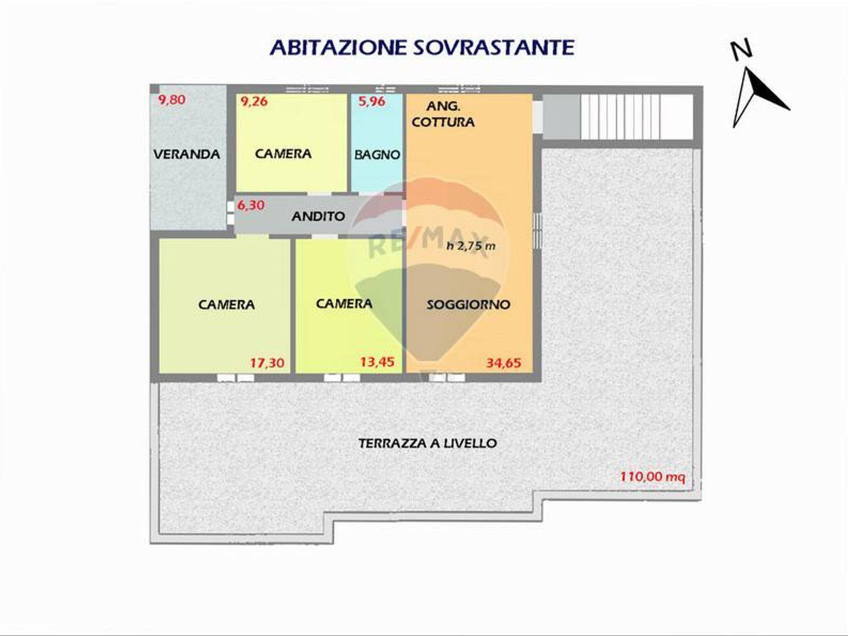 Ristorante Zona Santa Margherita, Pula, CA Vendita - Planimetria 2