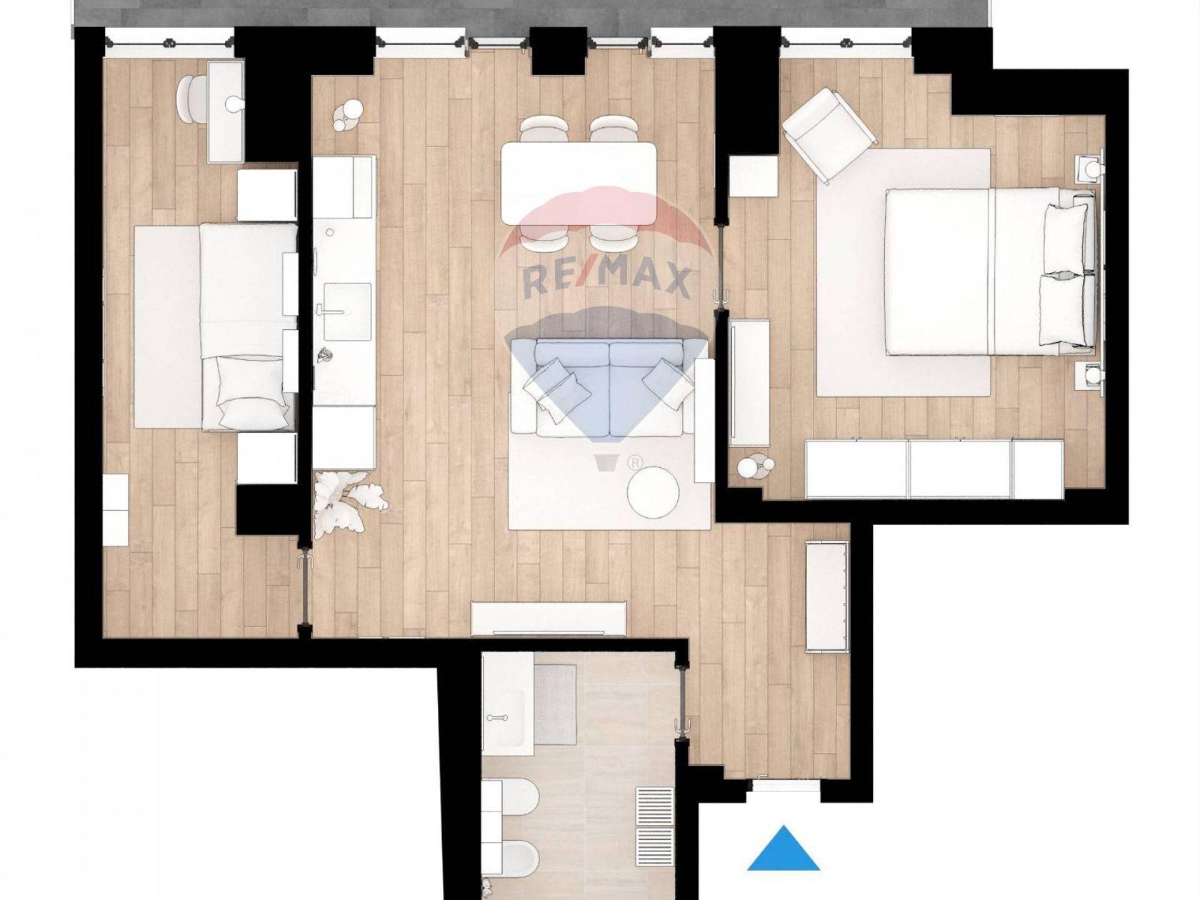 Progetto Appartamento 85 Mq appartamento in vendita roma 20201008-123 | re/max italia