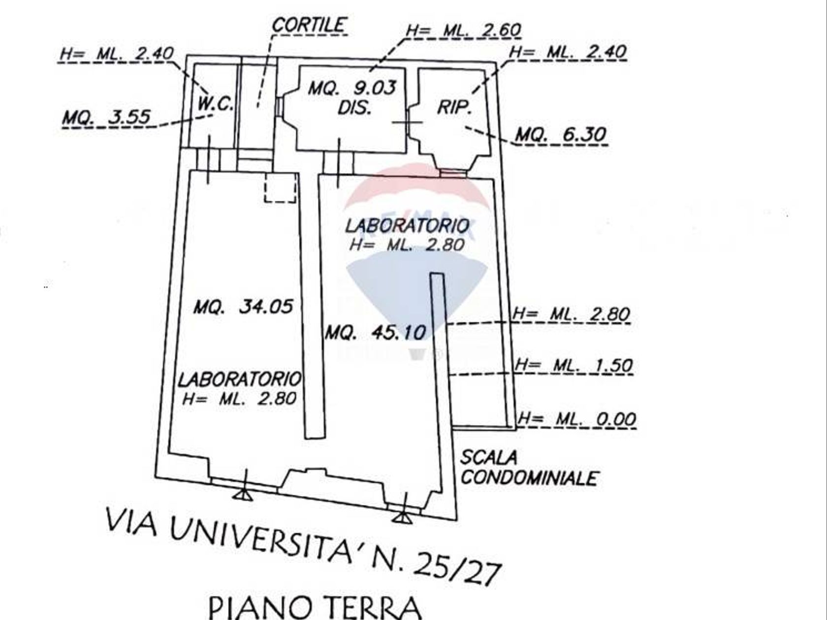 Laboratorio Stampace, Cagliari, CA Vendita - Planimetria 1