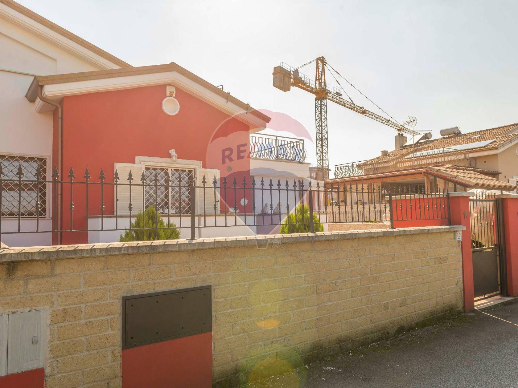 Villetta bifamiliare Castelverde Di Lunghezza, Roma, RM Vendita - Foto 52