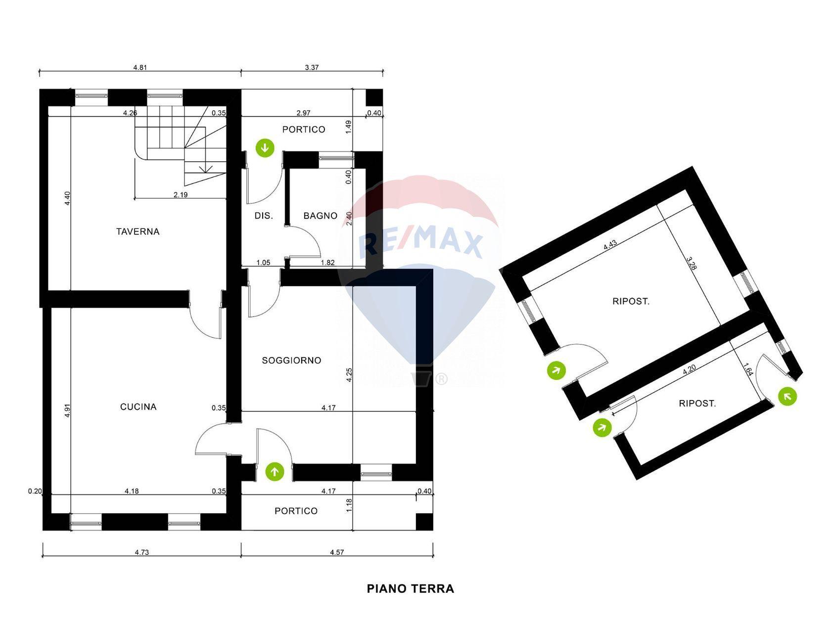 Casa Indipendente Castelnuovo, Teolo, PD Vendita - Planimetria 2