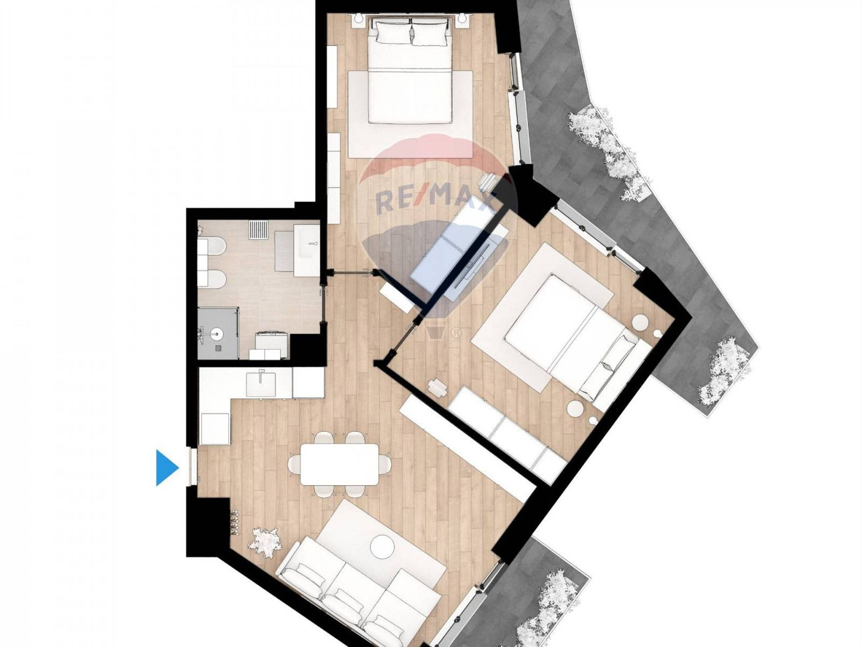 Progetto Appartamento 85 Mq appartamento in vendita roma 20201008-124 | re/max italia