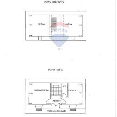 Casa Indipendente Castelvecchio Calvisio, AQ Vendita - Planimetria 2
