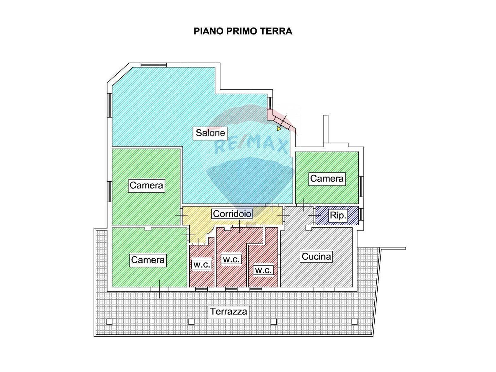 Villa singola Caltanissetta, CL Vendita - Planimetria 1