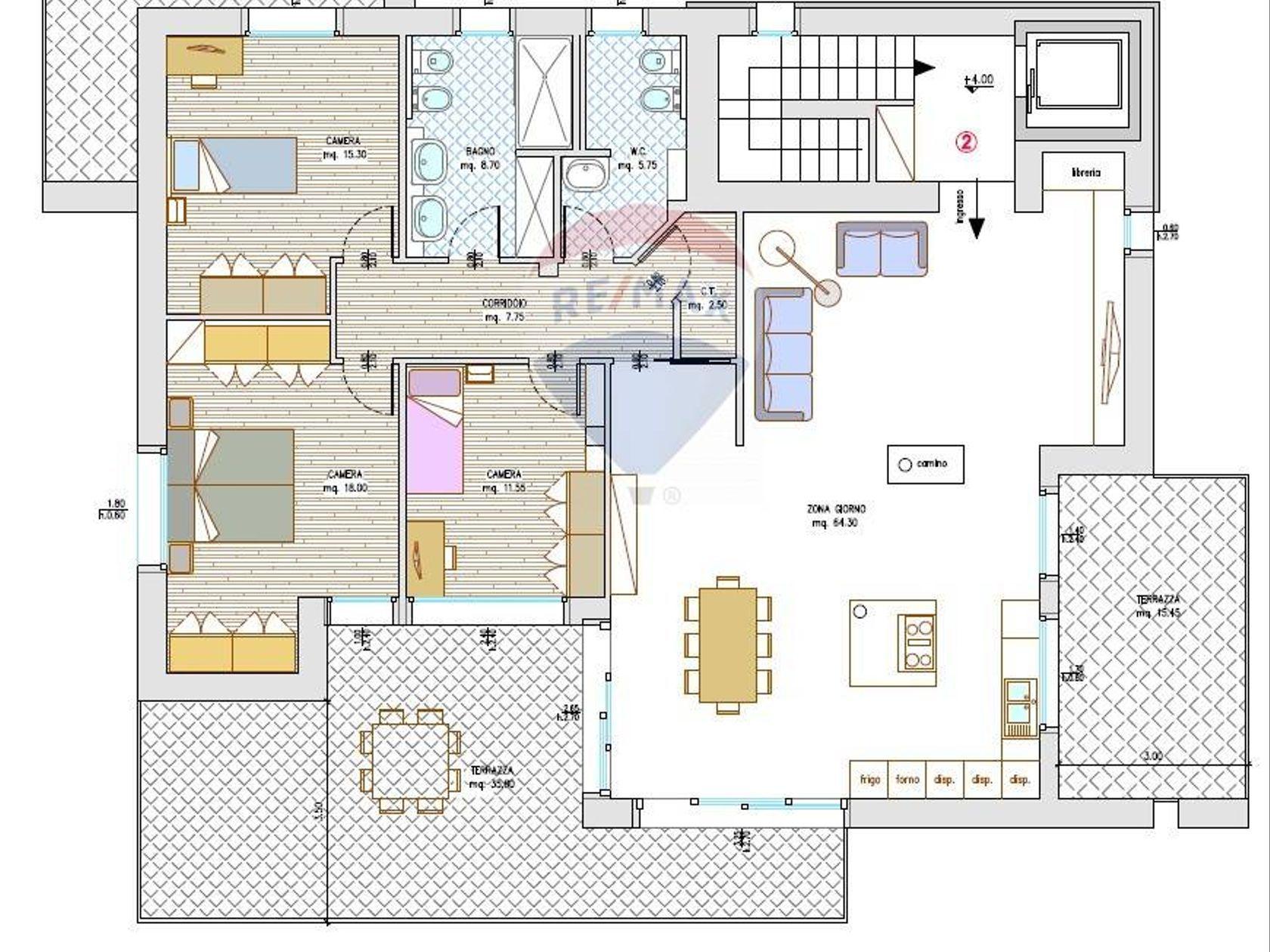 Appartamento Zanè, VI Vendita - Planimetria 2