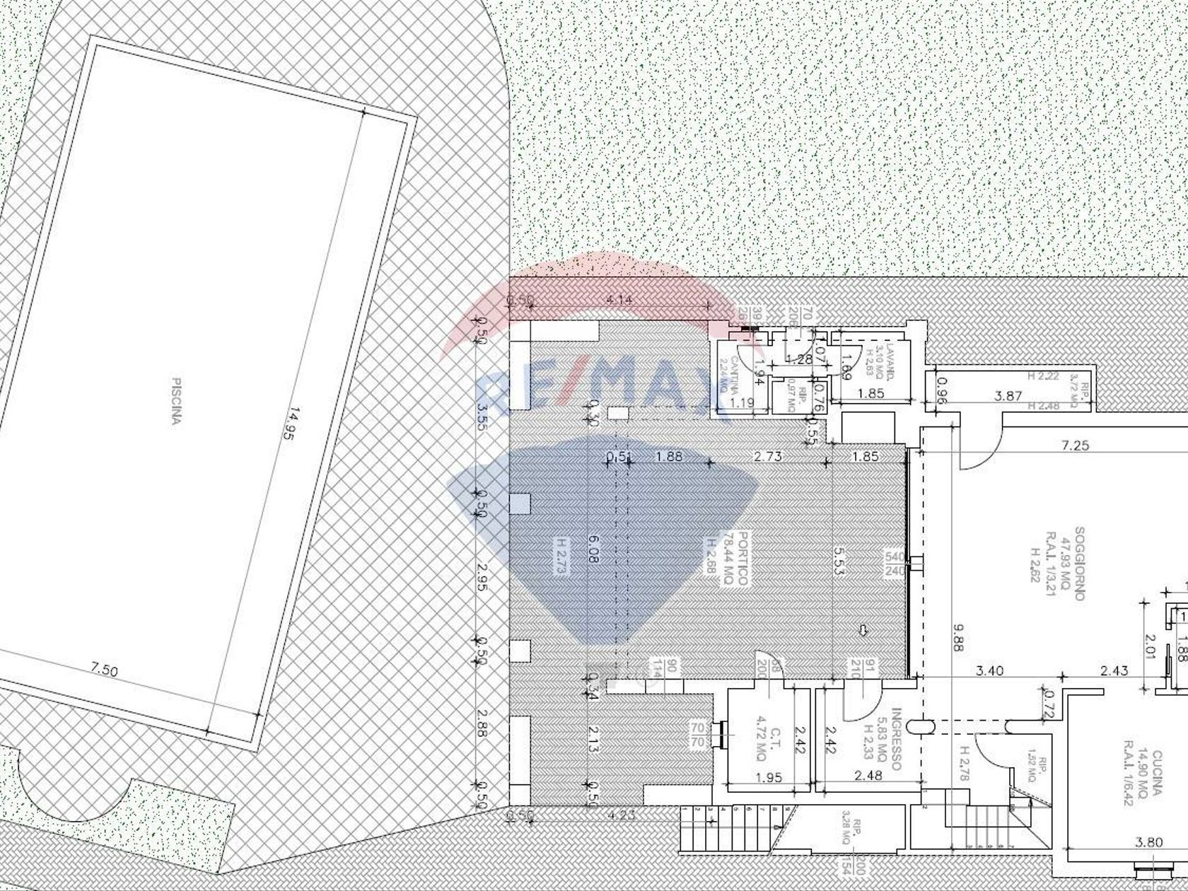 Villa singola Lugana, Sirmione, BS Vendita - Planimetria 1