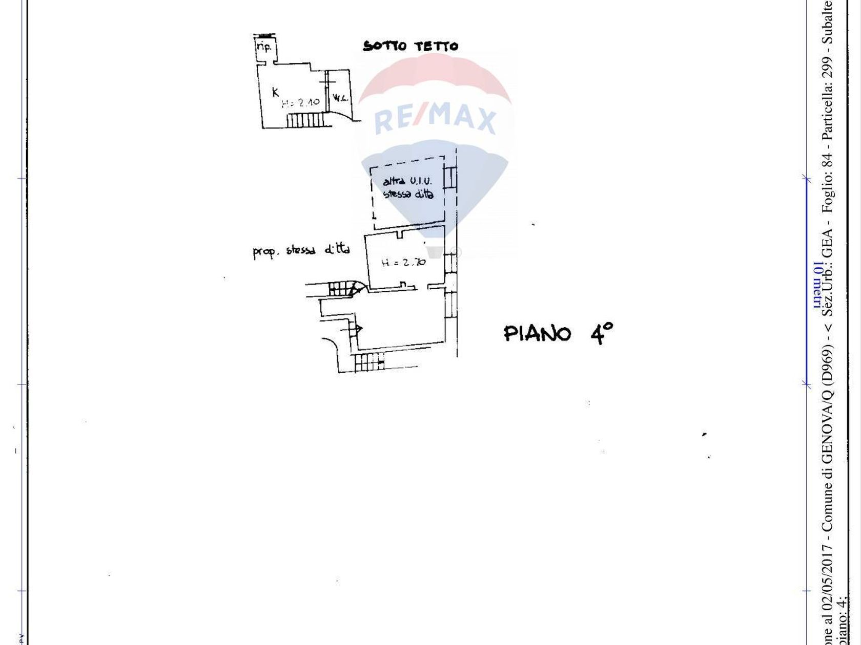 Appartamento Centro Storico, Genova, GE Affitto - Planimetria 1