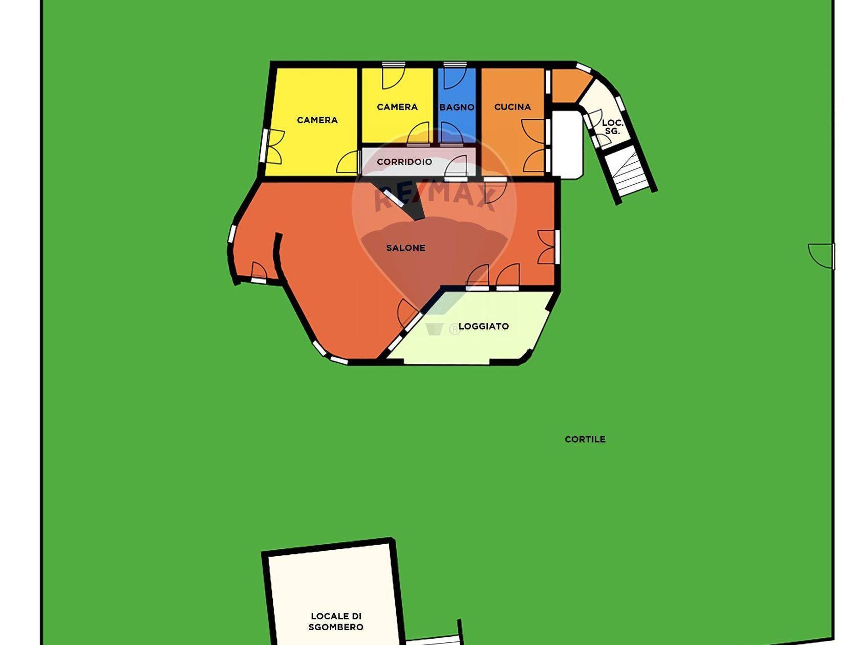 Villa singola Zona Santa Margherita, Pula, CA Vendita - Planimetria 1
