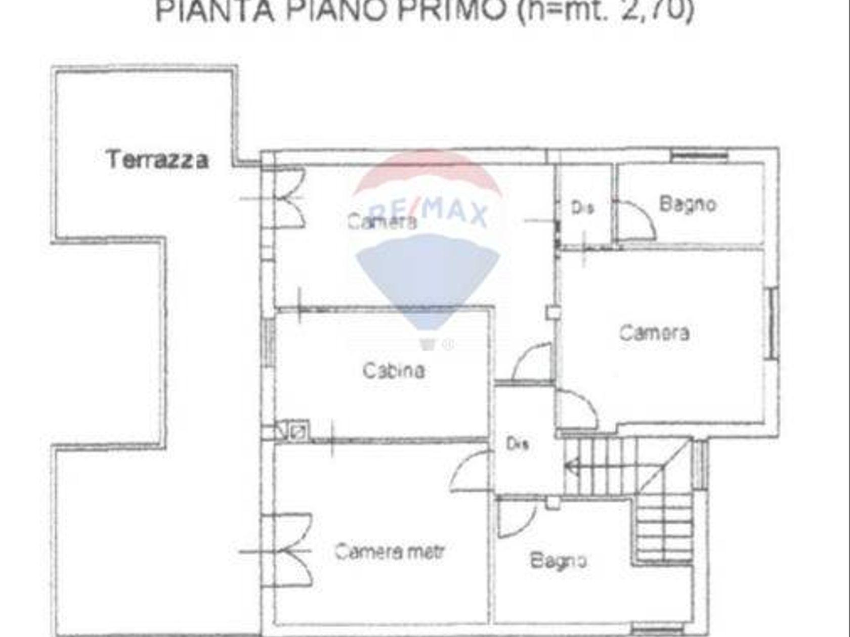 Villa singola Zona Poggio Dei Pini, Capoterra, CA Vendita - Planimetria 1